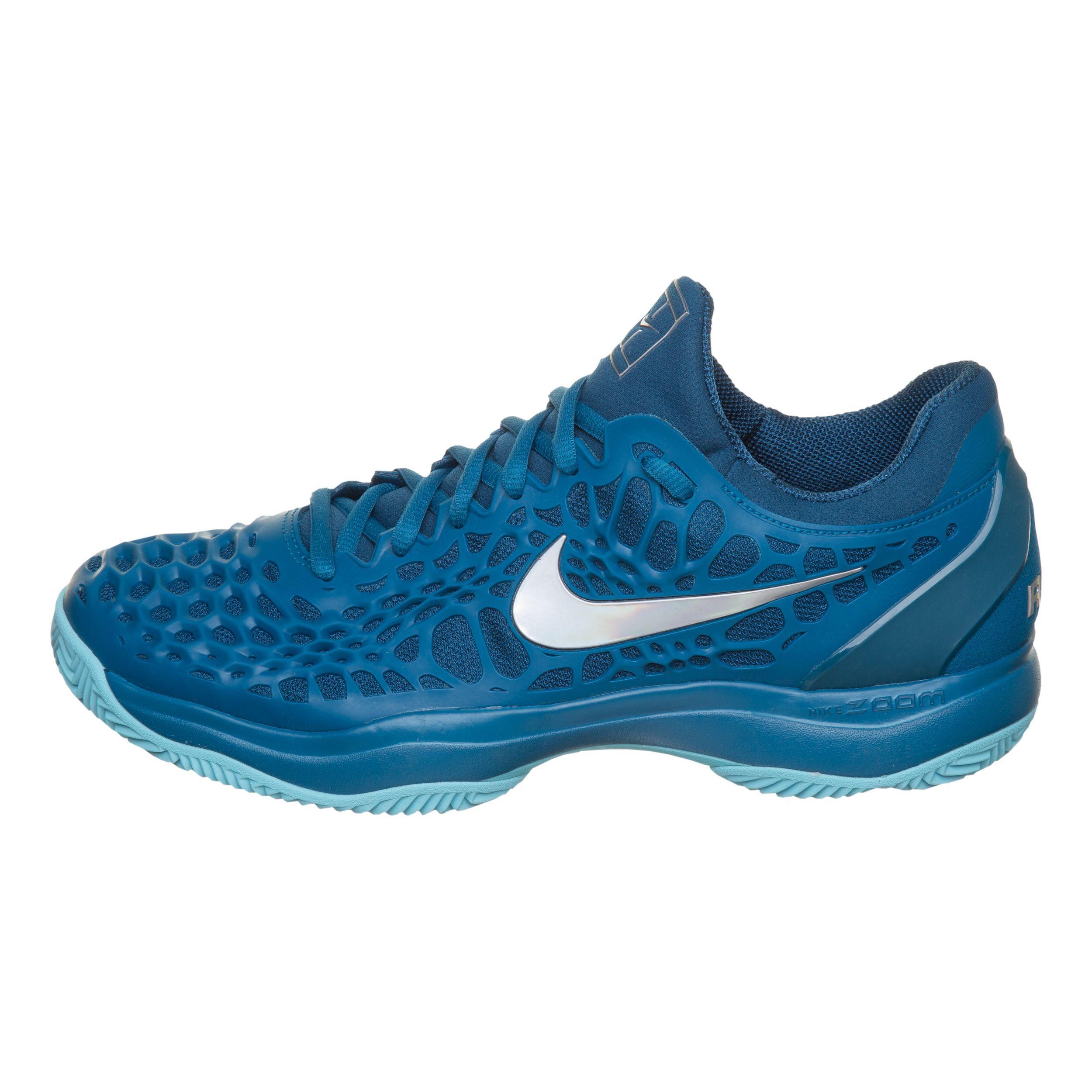 buy Nike Zoom Cage 3 Clay Court Shoe Men - Blue, Light Blue online ...