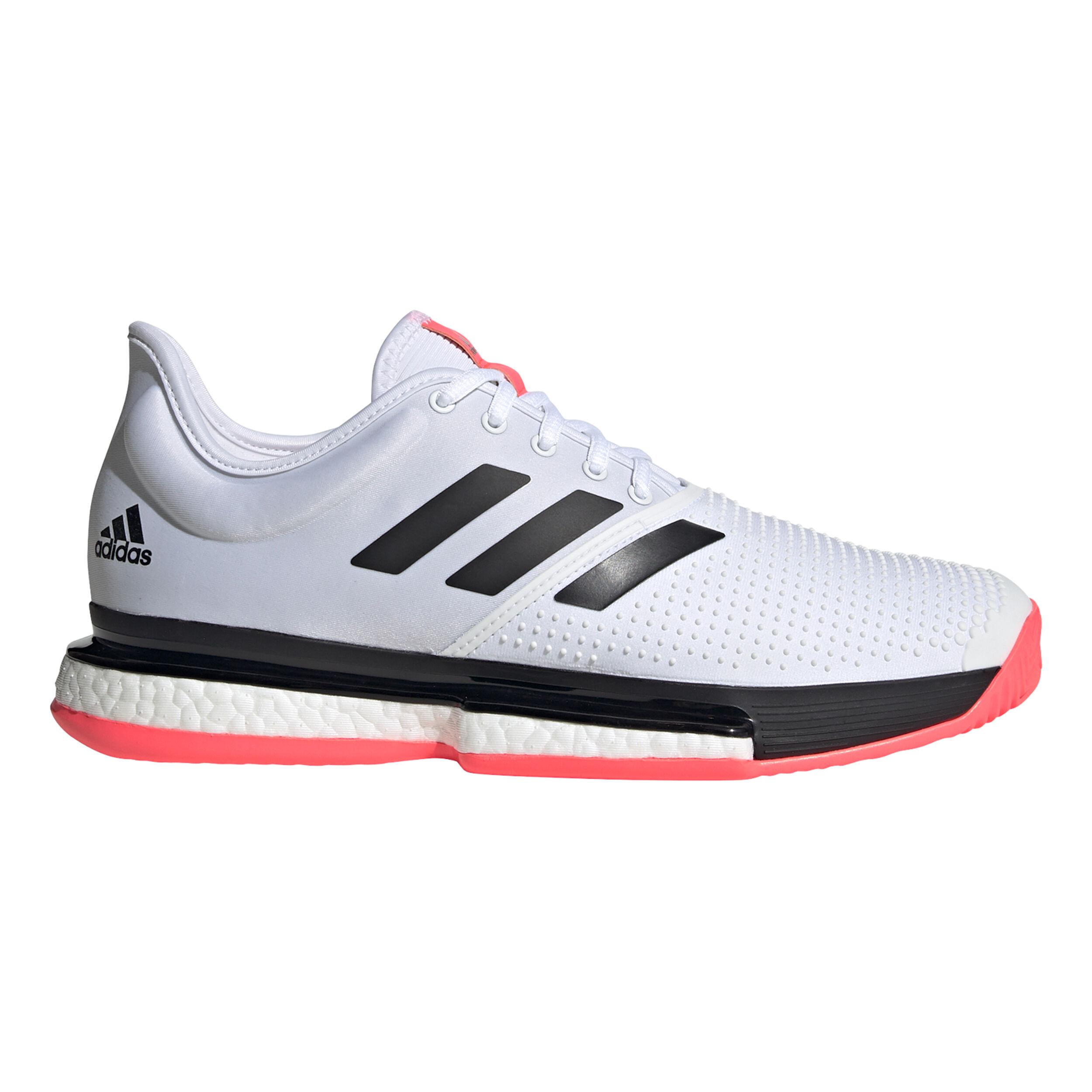 buy adidas Solecourt All Court Shoe Men - White, Black online ...