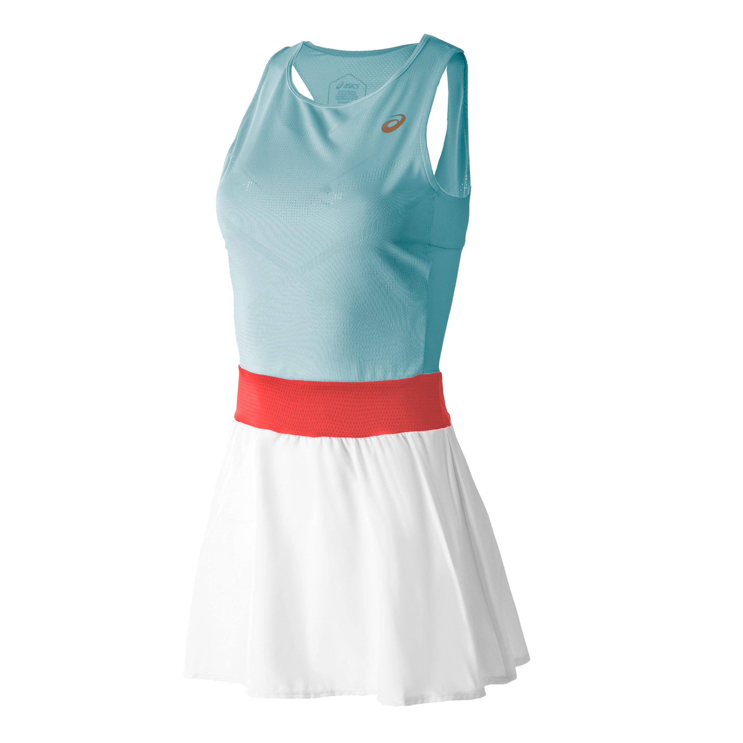 buy Asics Dress Women - Turquoise, White online | Tennis-Point