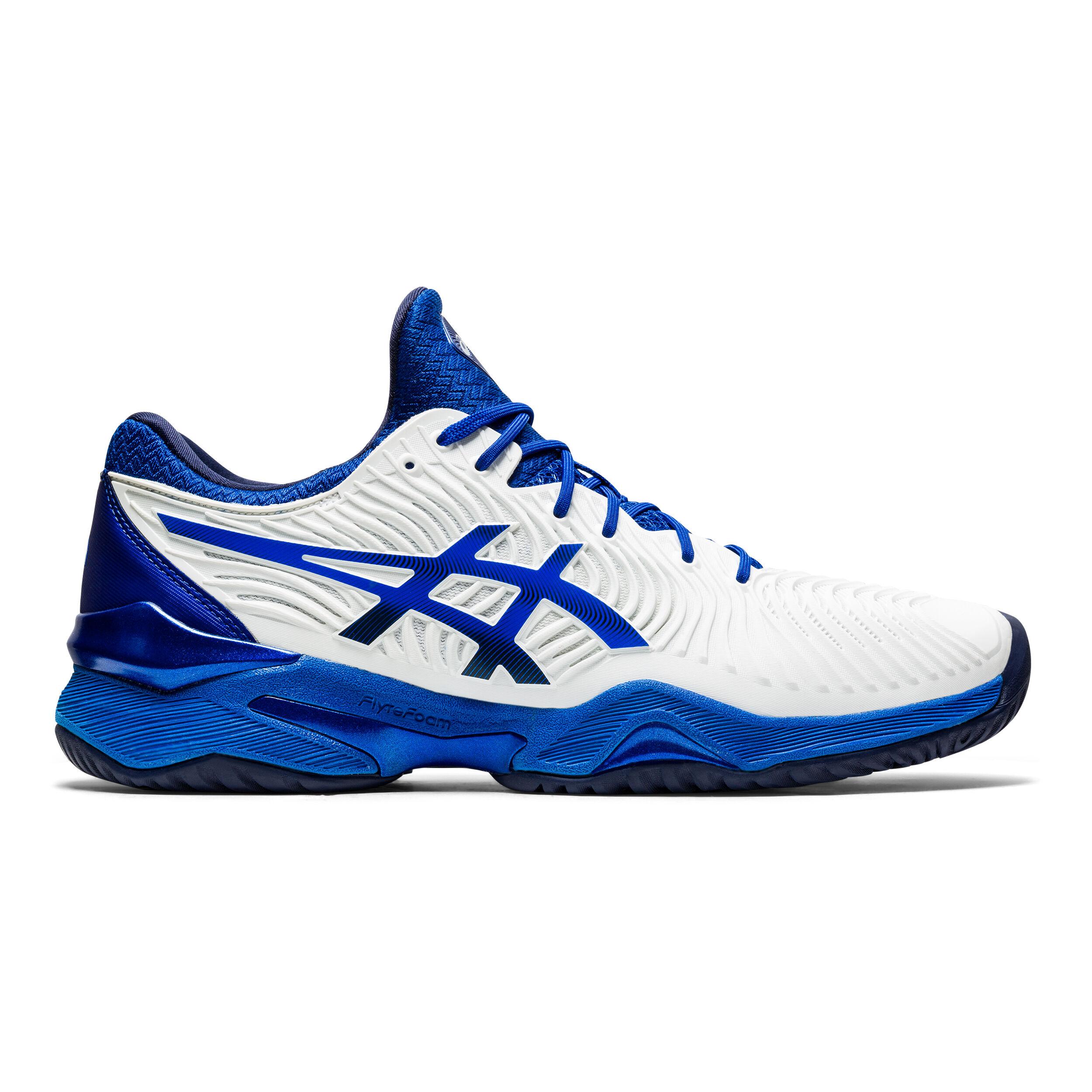 buy Asics Novak Djokovic Court FF All Court Shoe Men - White, Blue ...