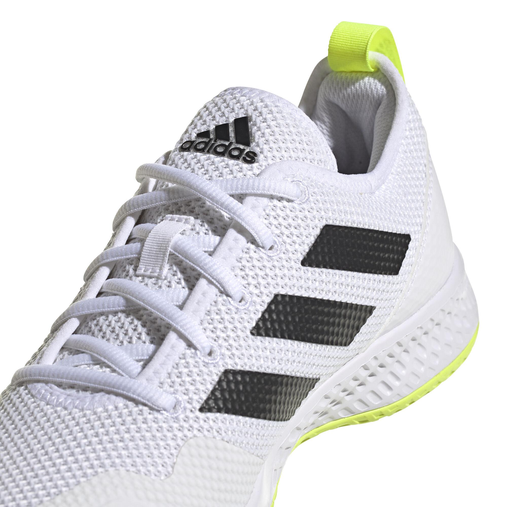 buy adidas Court Control All Court Shoe Men - White, Black online ...