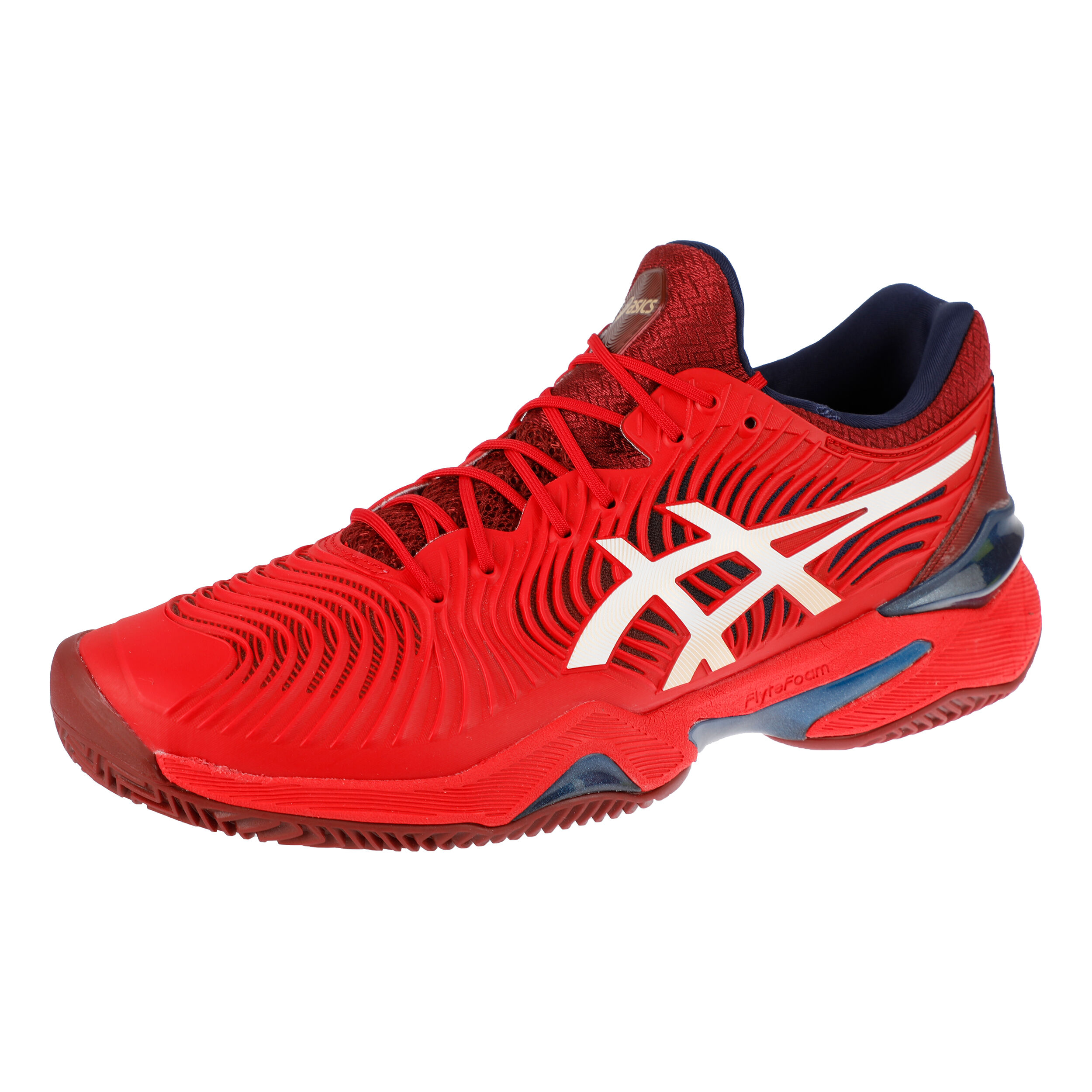 buy Asics Court FF 2 Clay Court Shoe Men - Red, White online ...