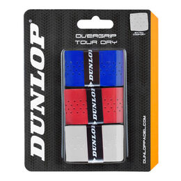 OVERGRIP TOUR DRY wht/red/blue